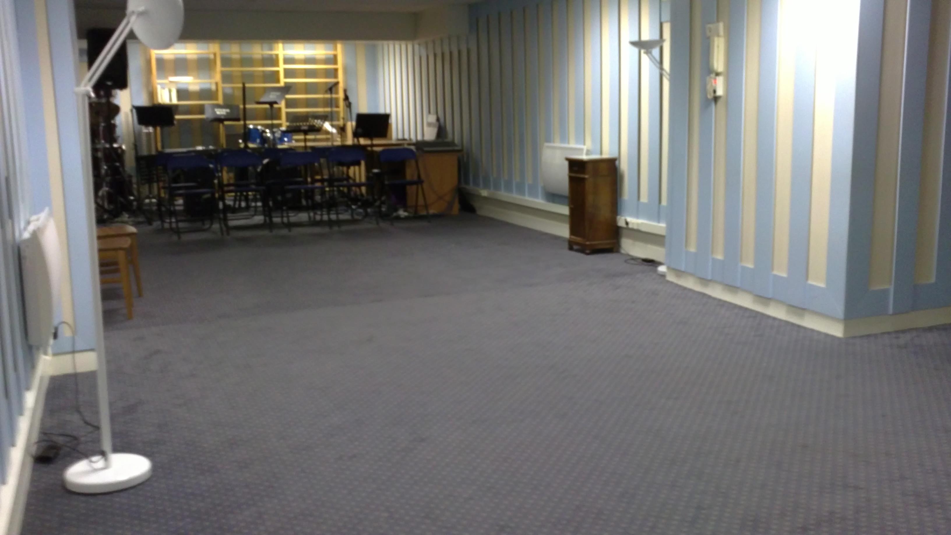 Photo de la salle de cours