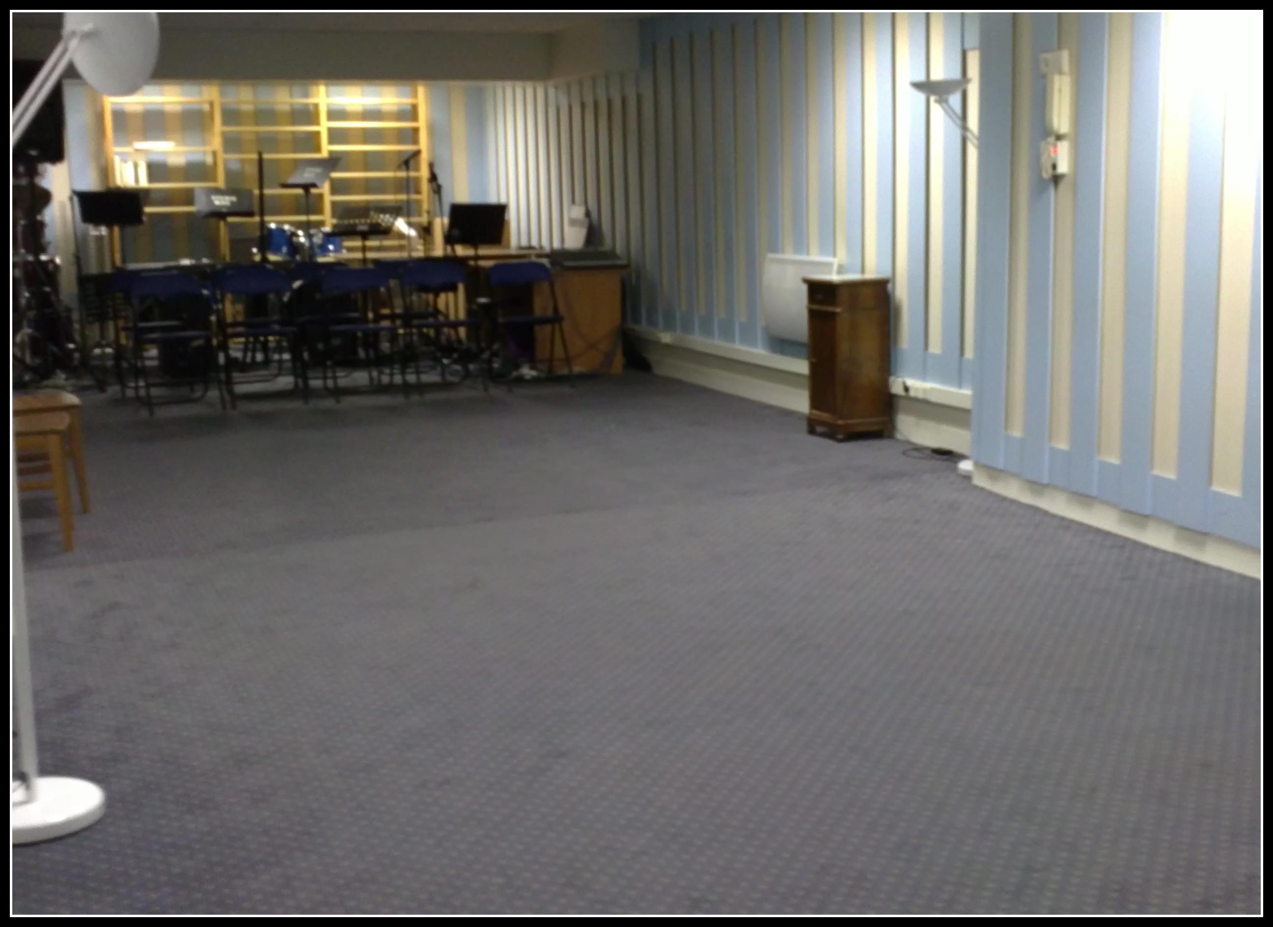 Salle de répétitions de l'Echiquier