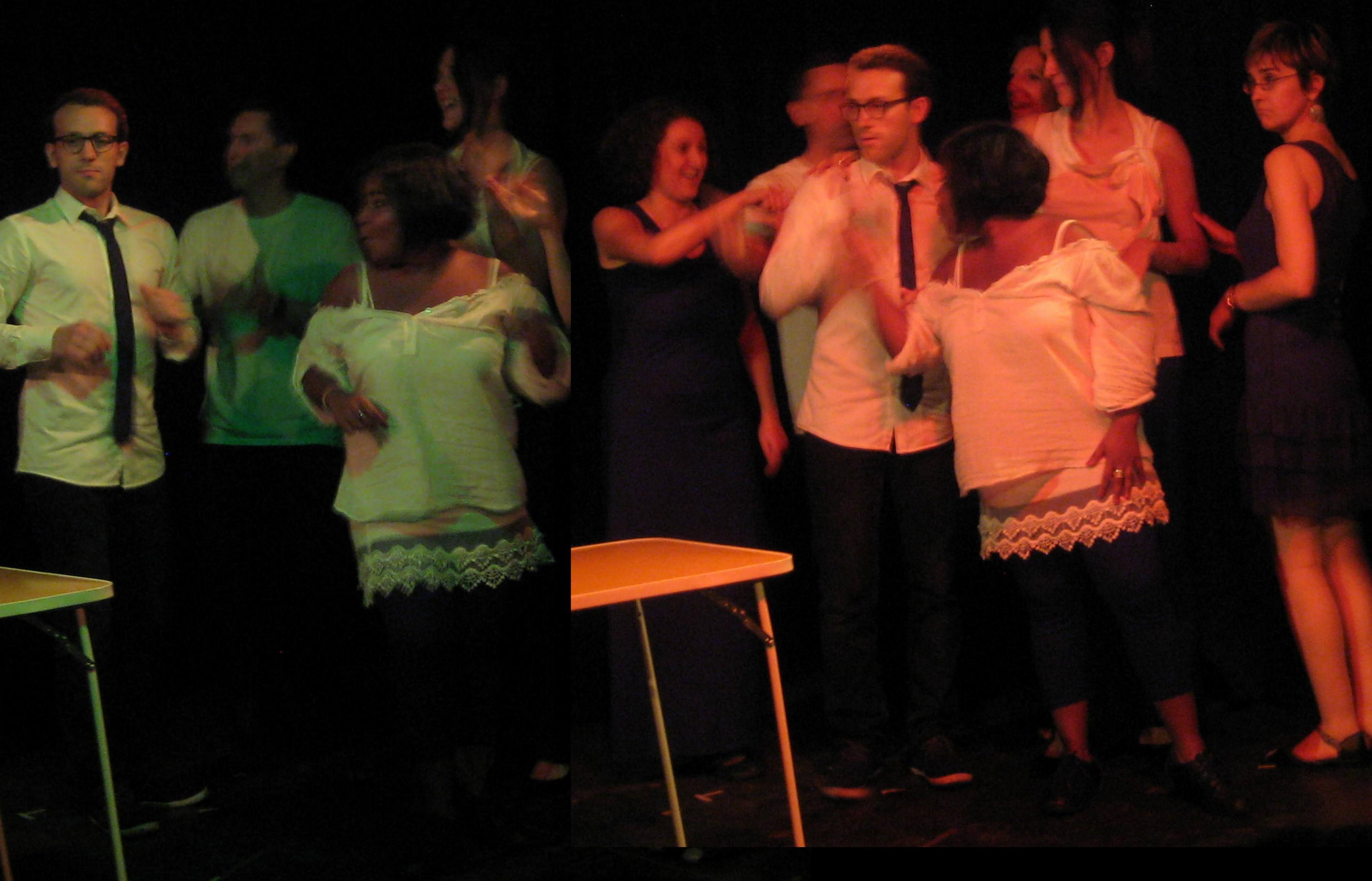 cours theatre paris